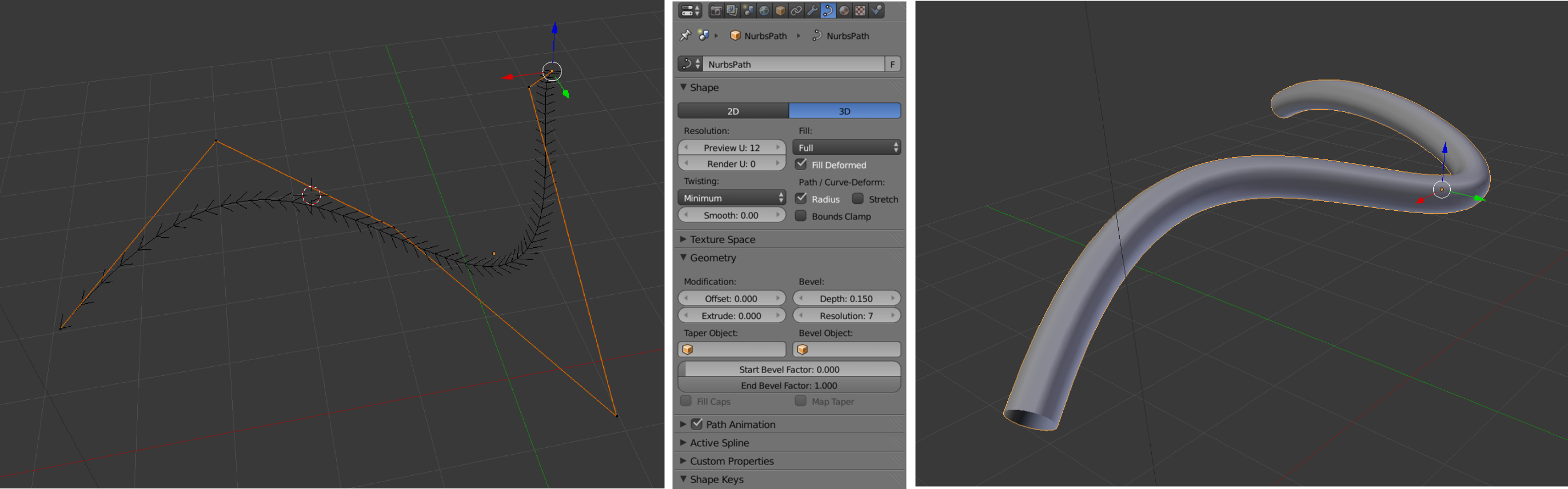 how to make a object smaller in blender
